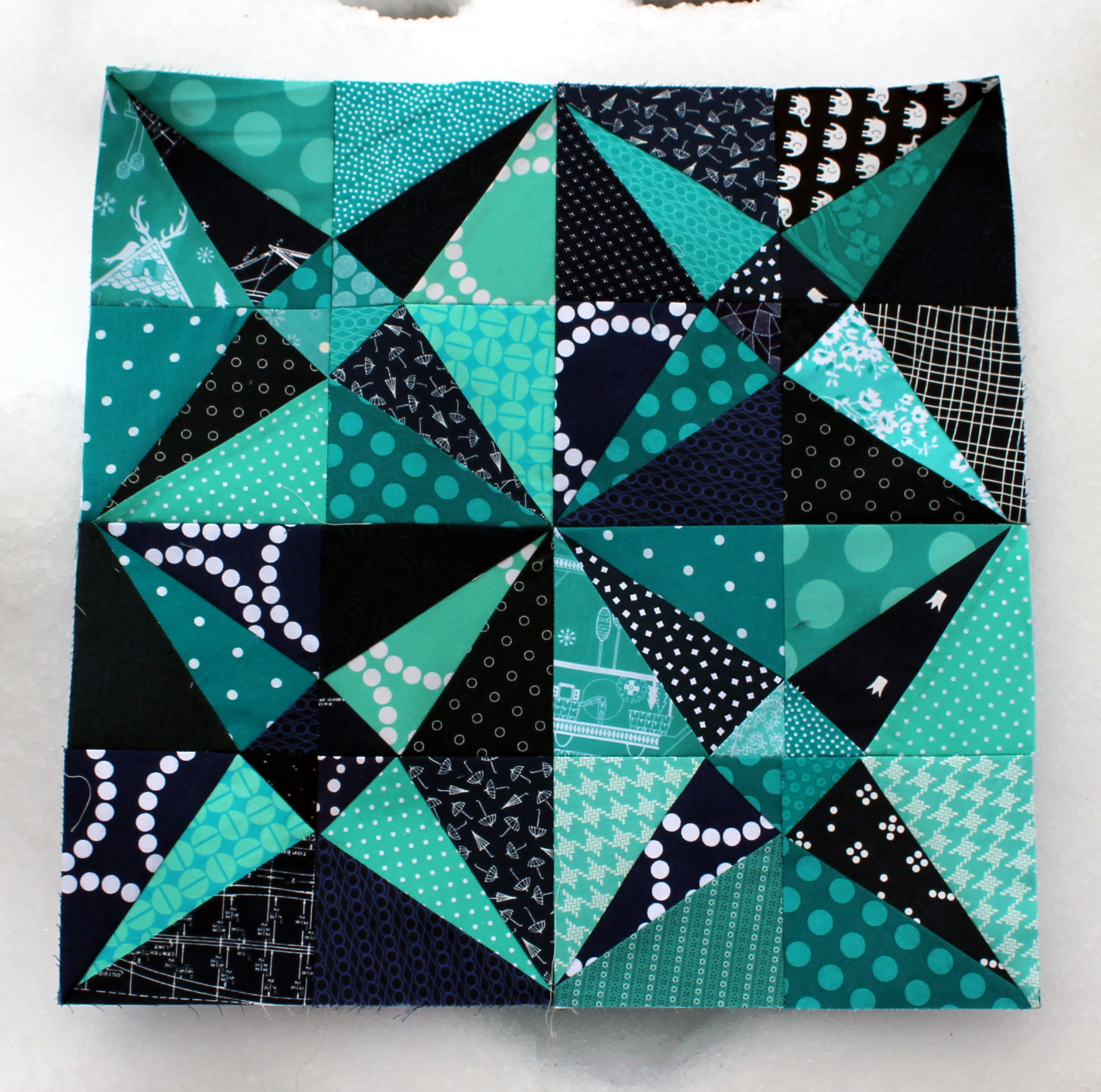 """free paper piecing pattern""""– WOMBAT QUILTS"""