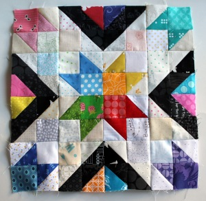 Texan star quilt block