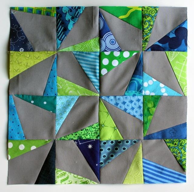 pinwheel block
