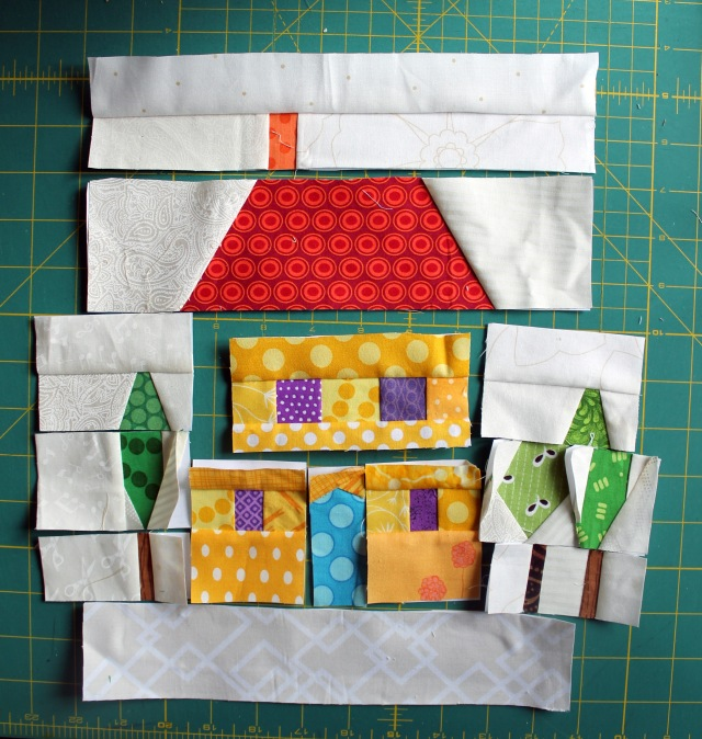 quilt block pieces 1
