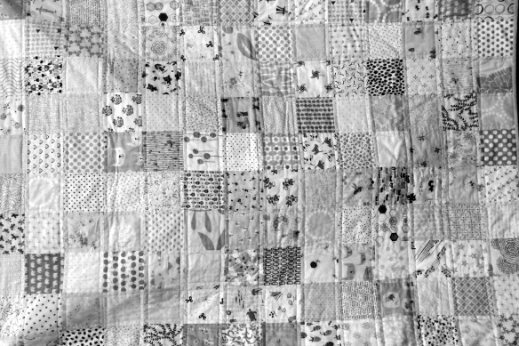 black & white fabric