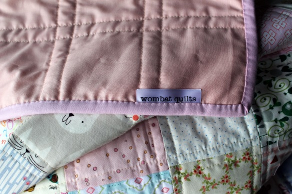 low volume quilt binding