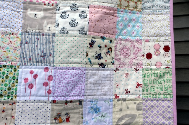 low volume quilt detail a