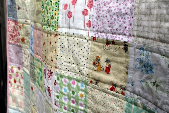low volume quilt detail e