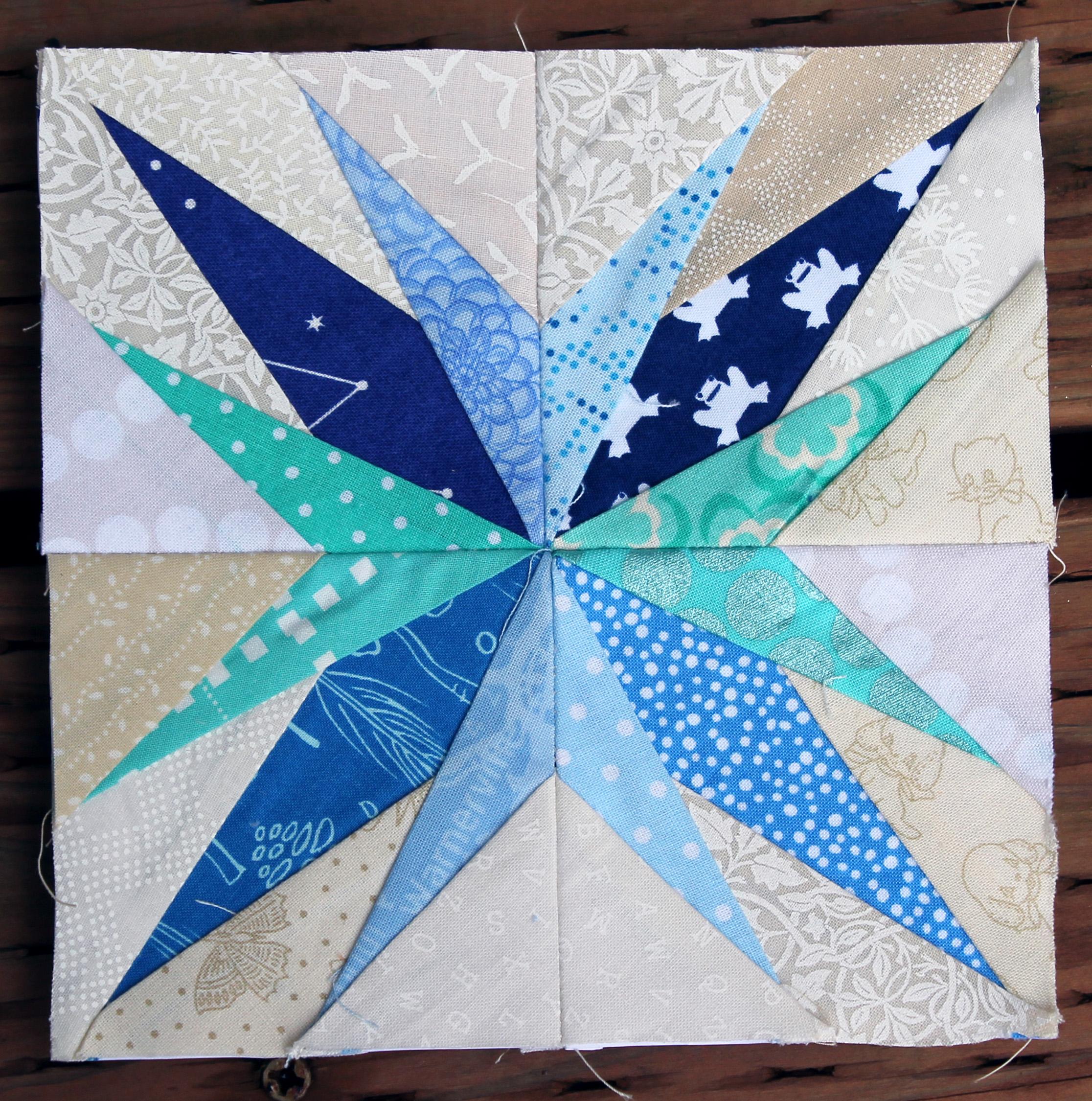 17 Free Paper Pieced Star Block Pattern 5 Free