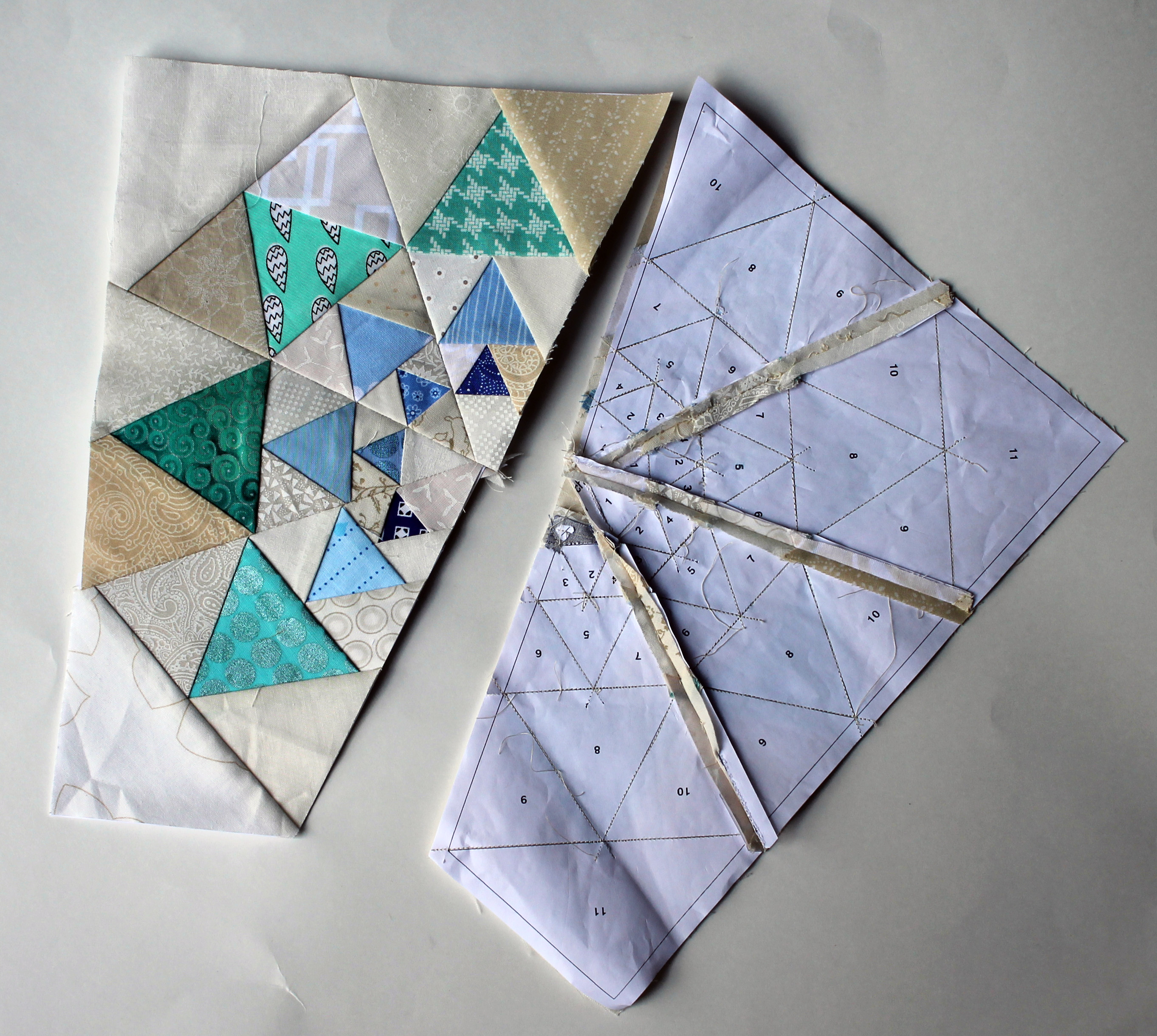 how to connect quilt blocks