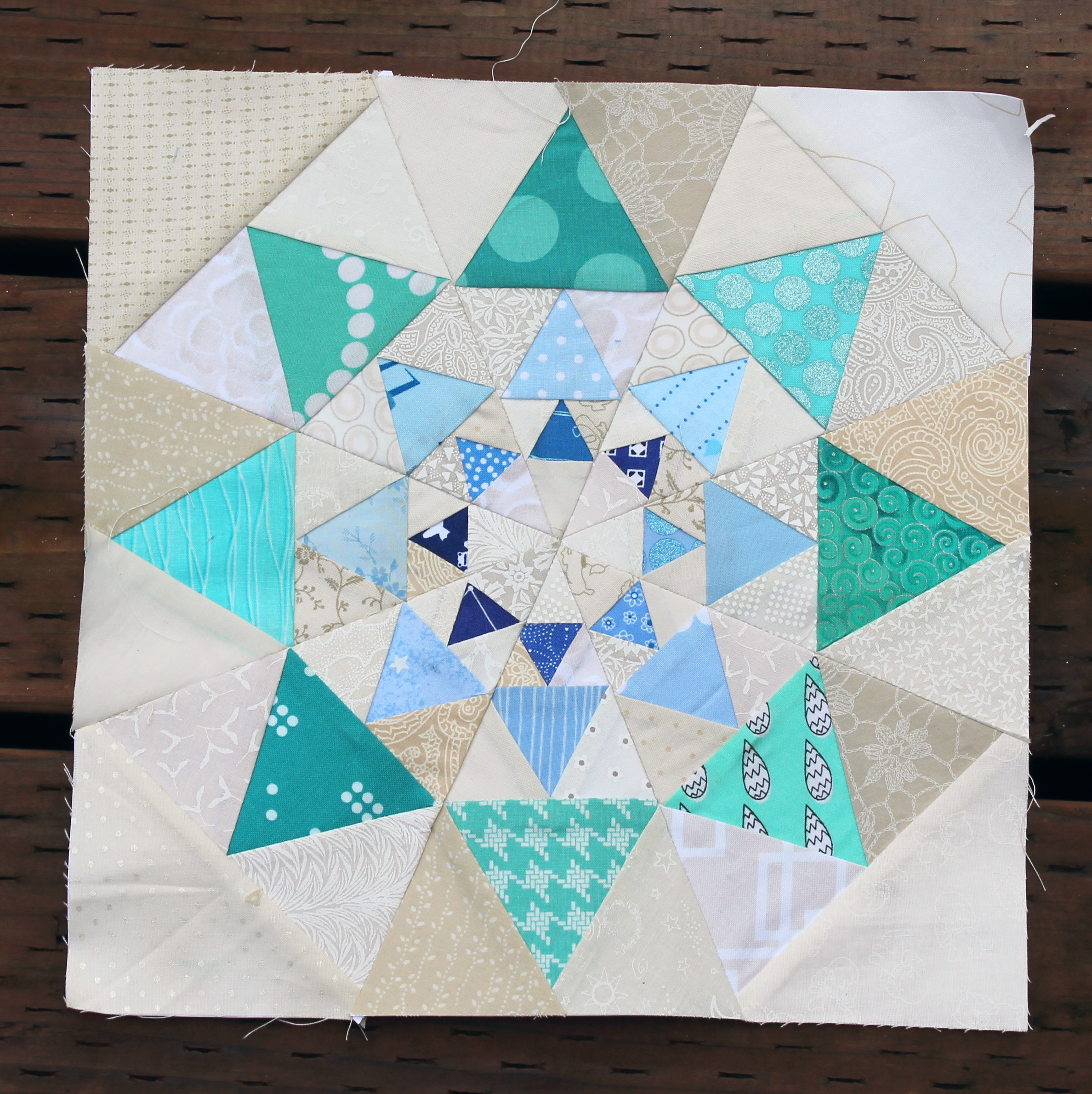 Free Quilt Patterns And Blocks : paper pieced star block WOMBAT QUILTS