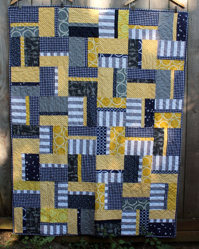 Finished PMQG chairty quilt 2