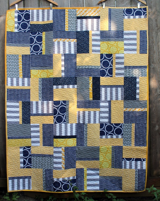 Finished PMQG Charity quilt