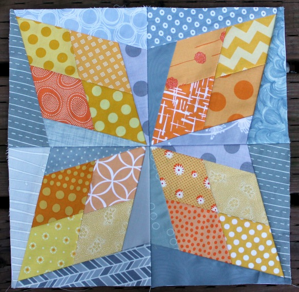 scrappy quilt block