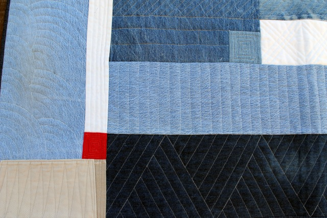 Detail of Red Square by Diane Jackson