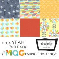 My Michael Miller Challenge Quilt
