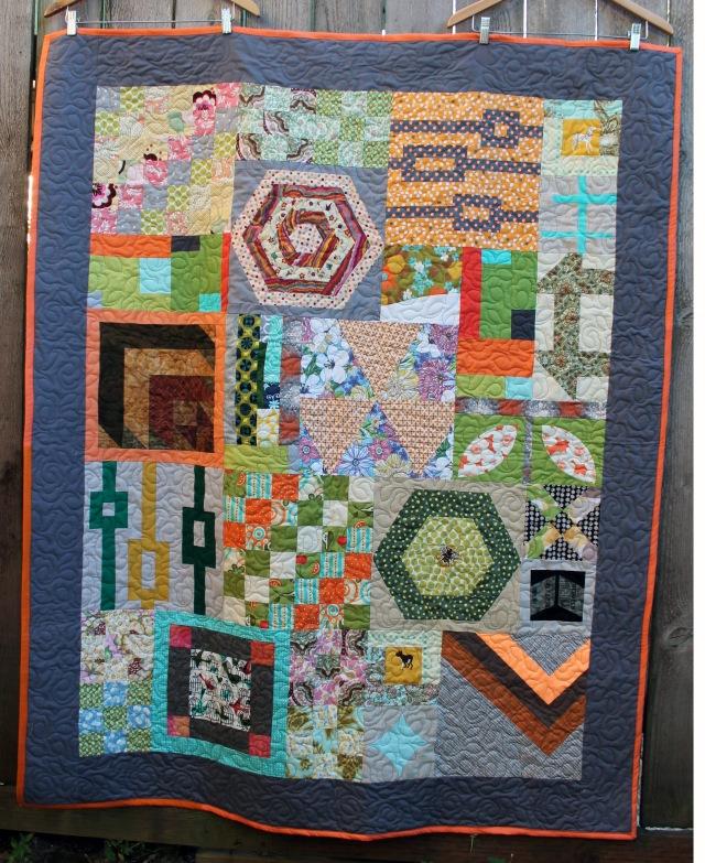 Orphan Block quilt