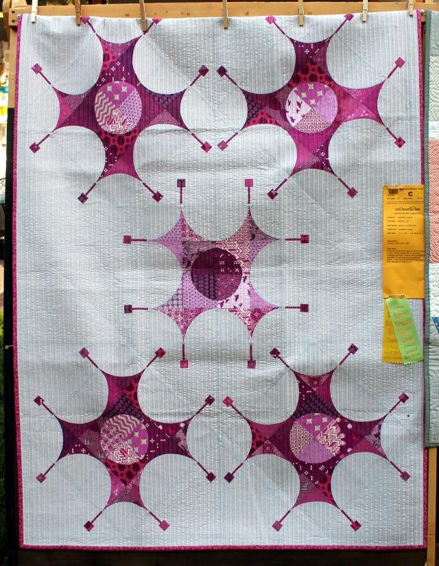 Ann Marie Cowley's Pantone Quilt