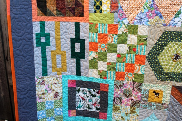 PMQG Orphan quilt detail