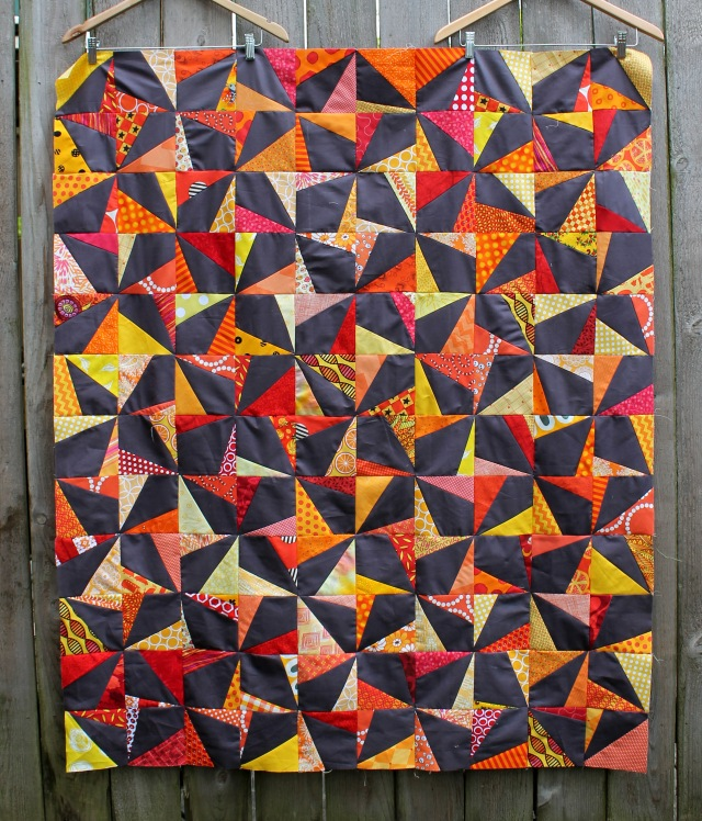 easy wonky quilt