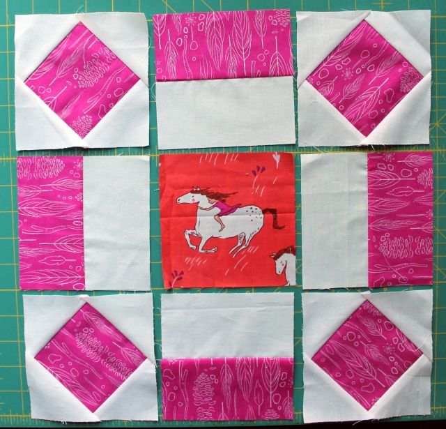 Wee wanders block layout