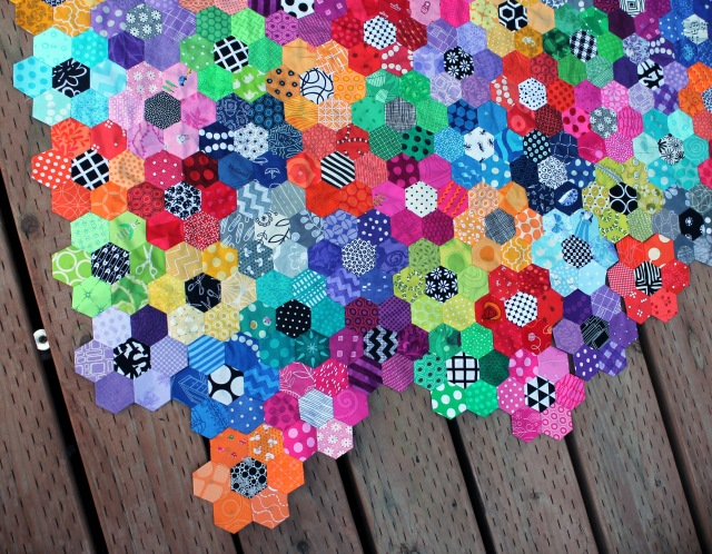 Hexies close up