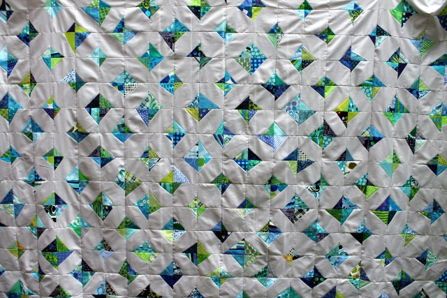 wonky kite quilt 2