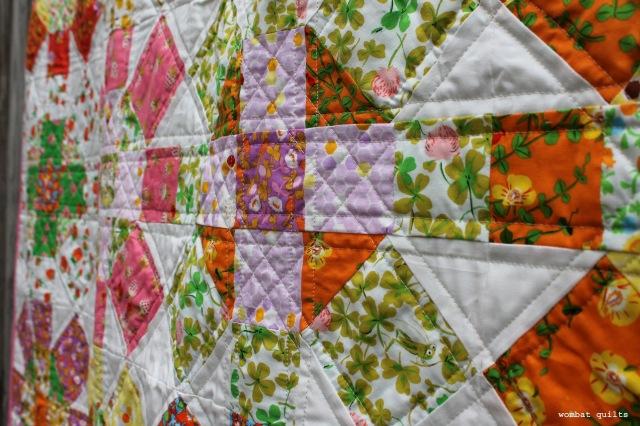 briar rose quilt detail