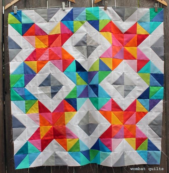 cross stitch sparkle top