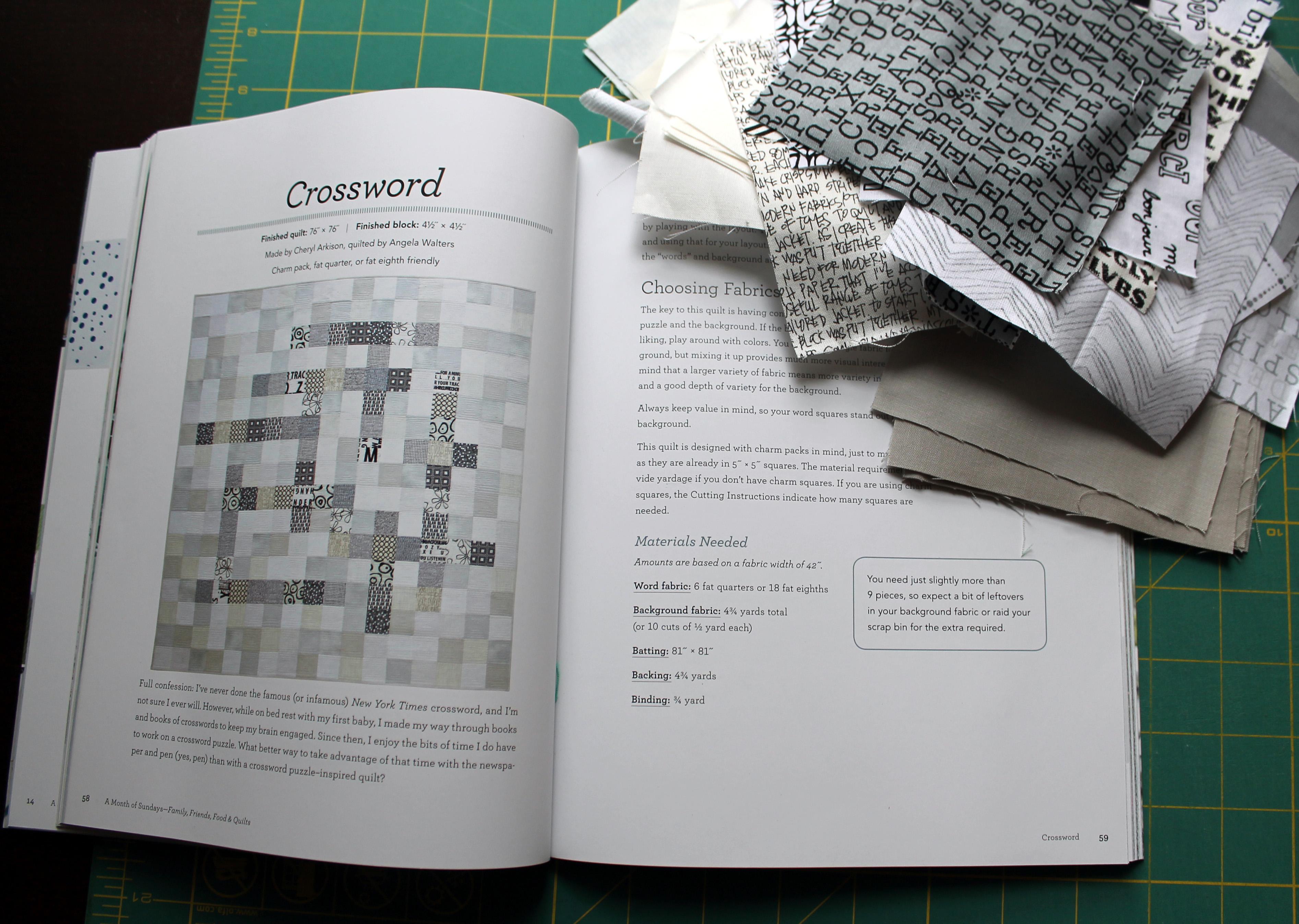 crossword quilt