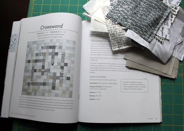 crossword quilt