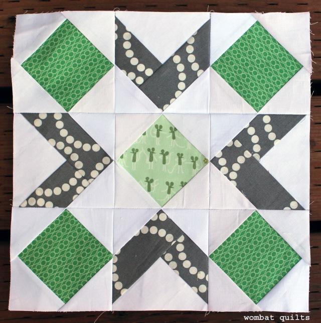 joy bell quilt block
