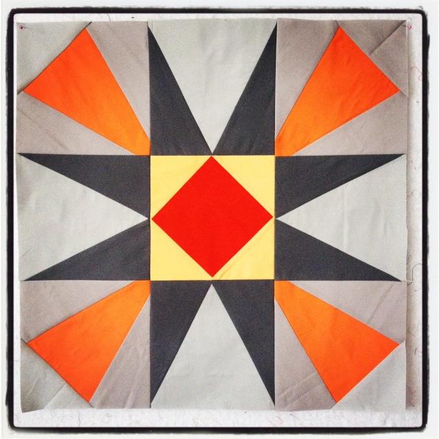 solid quilt block