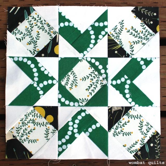 Salem quilt block