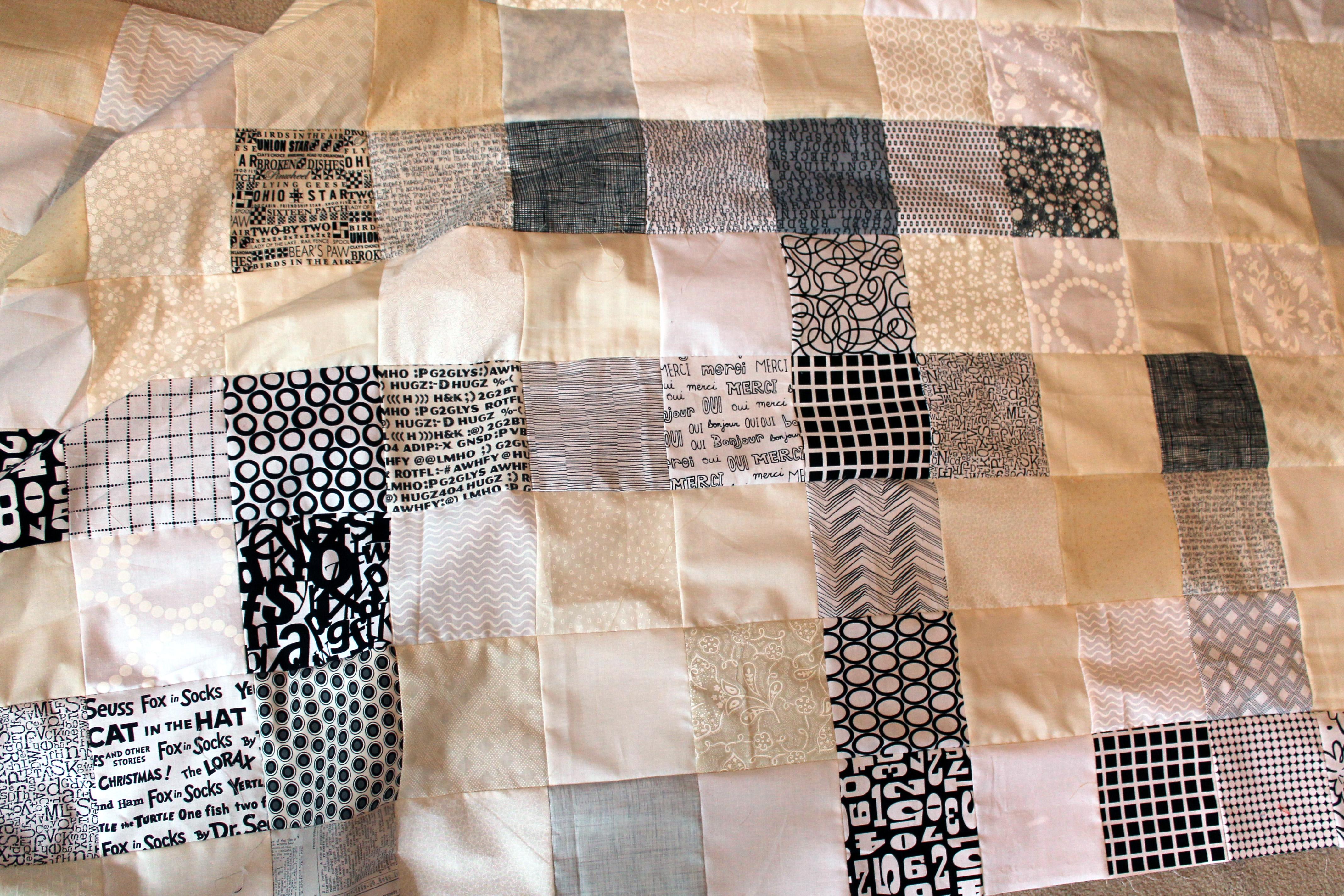 wip crossword quilt