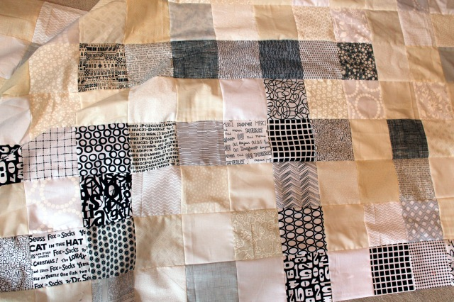 wip crossword quilt