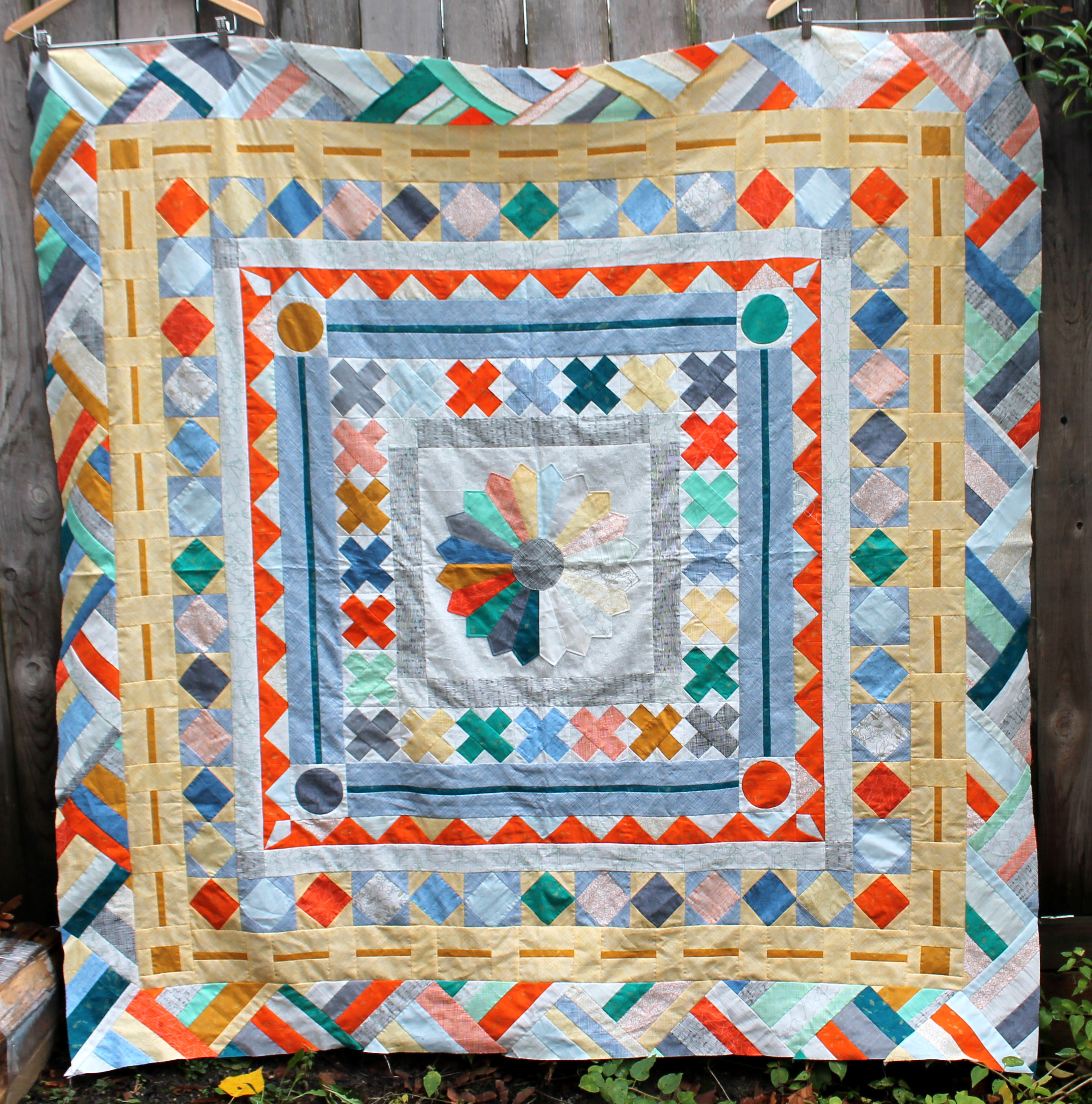 The Pmqg Medallion Quilt Wombat Quilts