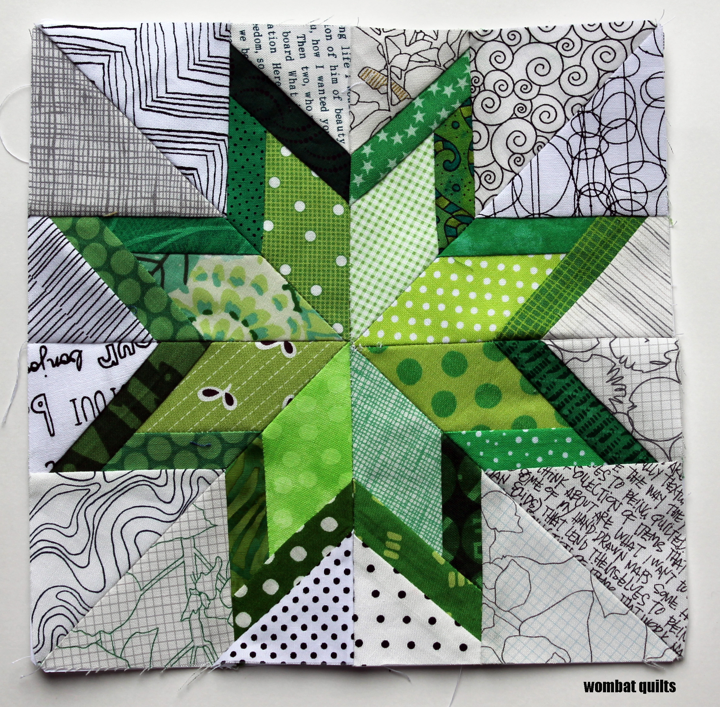 Free Paper Piecing Patterns Quilt Blocks : 8 inch stars? a new paper piecing adventure WOMBAT QUILTS