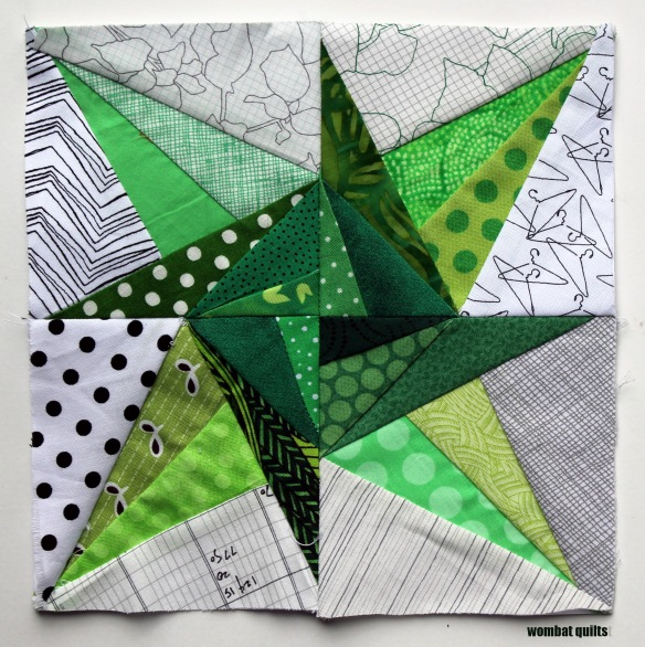 8 Inch Quilt Blocks Free Patterns : 8 inch stars? a new paper piecing adventure Wombat ...