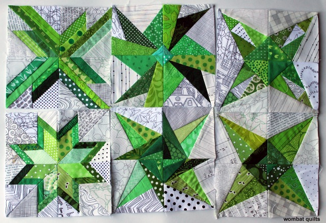Green stars wip