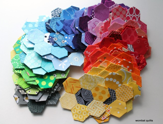 all the hexagons