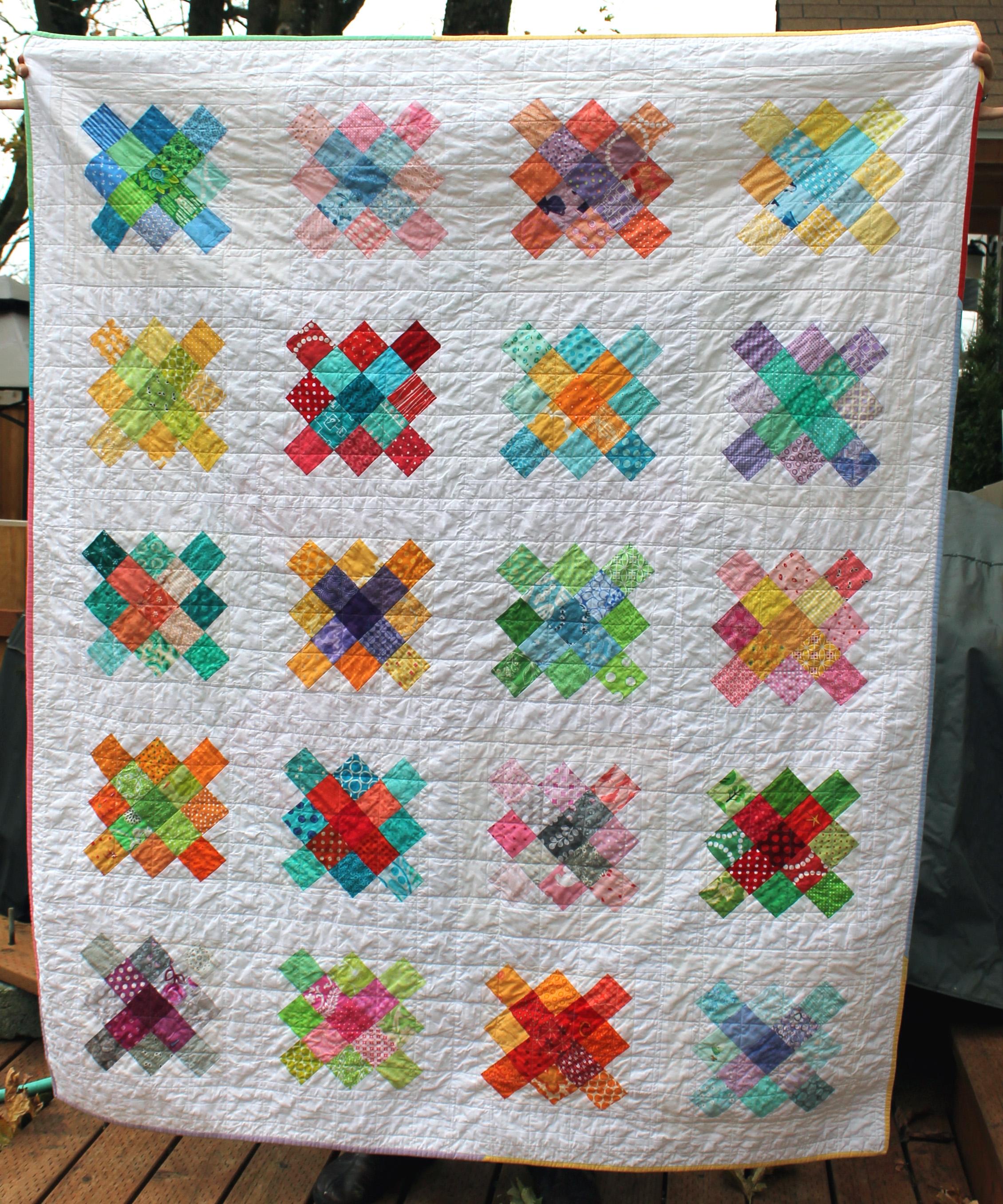 granny square quilt | WOMBAT QUILTS : square quilt - Adamdwight.com