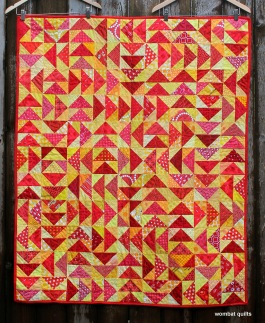 Lost Geese quilt