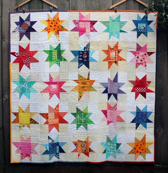 pmqg wonky star charity quilt