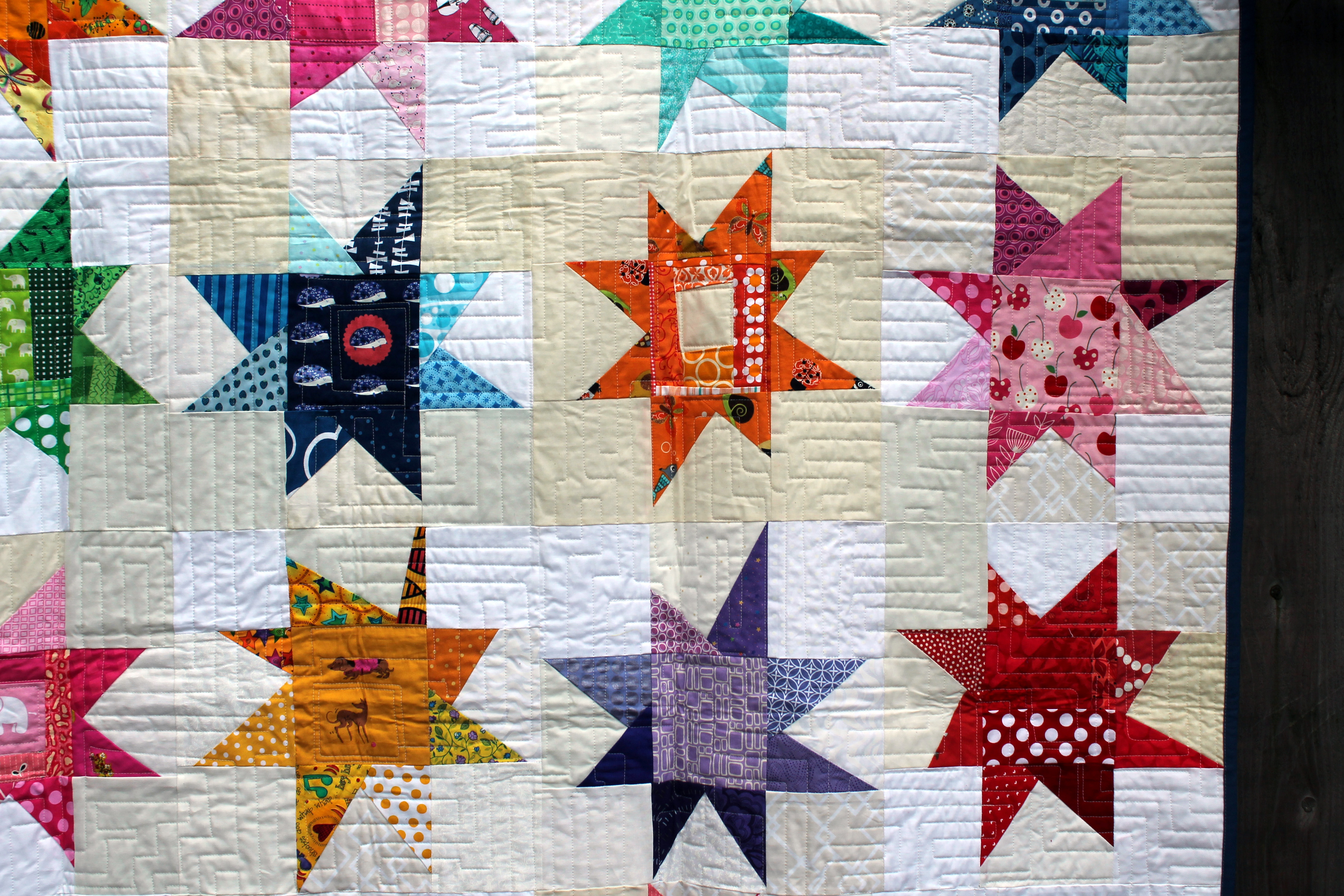 Wonky Star Quilt Wombat Quilts Page 2