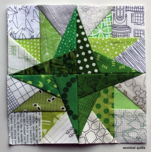 free paper piecing block
