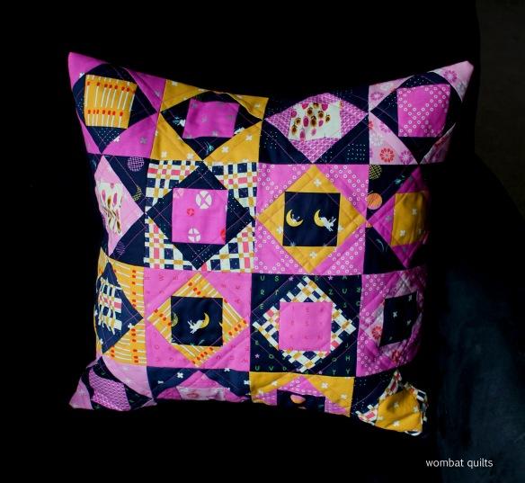 economy block pillow