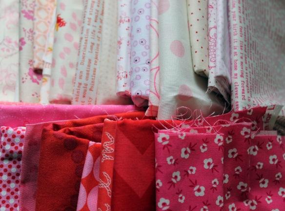 fabric piles