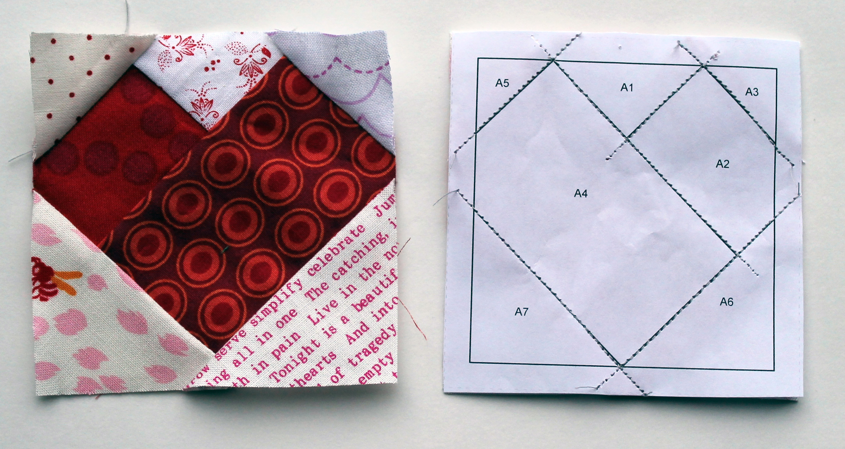 Free Heart Quilt Block Patterns : Heart Quilt Block Pattern Motorcycle Review and Galleries