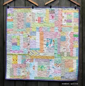 easy scrap baby quilt