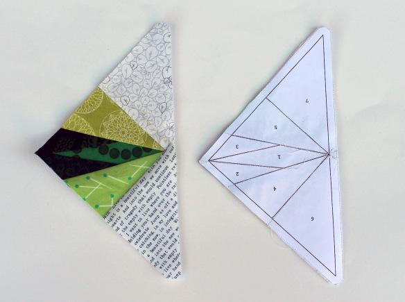 Nick star pattern pieces