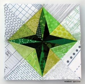 8 inch star quilt block