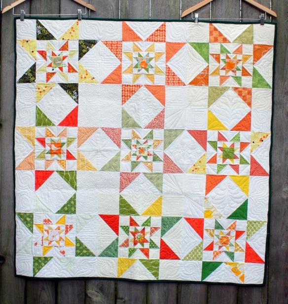 green star quilt top