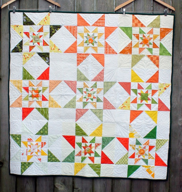 green star quilt top